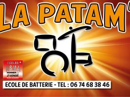 La Patam Batterie école musique